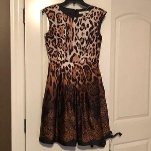 Leopard print women's dress.